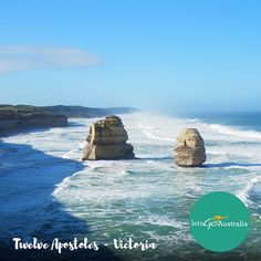It looks like the weather's gonna be great this #weekend so it might be a good chance for the last #roadtrip before #Christmas!  if you haven't been to the #12apostles you MUST check it out!  #TGIF #happyweekend #greatoceanroad #victoria #Melbourne #Australia by letsgoaustralia