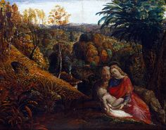 The Holy Family The earliest surviving oil painting by Samuel Palmer (1805-1881), executed during the winter of 1824-5