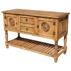 A Blend Of Traditional And Modern The Samantha Star Console Looks Great In Entryway Rustic Pine Furnituredining