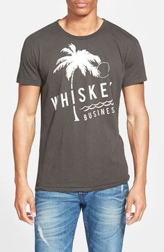 Free shipping and returns on Sol Angeles 'Whiskey Business' Graphic T-Shirt at Nordstrom.com. Whether you take it neat or on the rocks, this supersoft, trim-fitting crewneck T-shirt means less business, more pleasure.