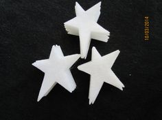 I use these for making my scent samples... they work great!! Primitive Felt Star for Wax Dipping. DIY Kits by PearCreekCottage