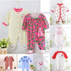 Aliexpress.com : Buy Newest 2014 Original Carter's & Kamaca carters baby girl rompers , top quality cotton babies coveralls ,cartoon infant ...
