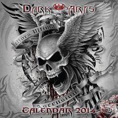 Calendrier gothic 2014 SPIRAL