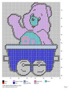 Care Bear Train Set 23