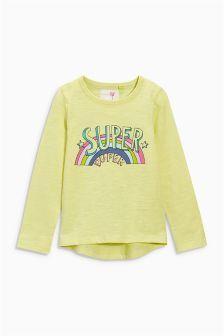Lime Super Duper T-Shirt (3mths-6yrs)