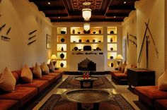 Wow. A little too rustic for me, but still cool. Al Maha Desert Resort & Spa - Majlis von O. Fey