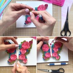 Quilling original card Butterfly with broken wings Unique Paper Art Handmade gift Unique design Style Butterfly Video, How To Make Butterfly, Butterfly Tree, Butterflies, Paper Quilling Designs, Quilling Art, Quilling Butterfly, Quilling Supplies, Quilled Roses