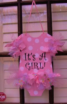TUTU cute! Metal doorhanging. You choose colors and personalization. Oh So Adoorable, llc on FB!