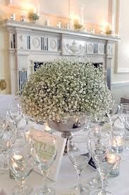 gypsophila wedding centrepieces - Google Search