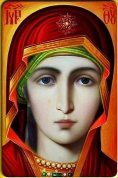 Wisdom of the Holy Fathers Blessed Mother Mary, Divine Mother, Blessed Virgin Mary, Religious Pictures, Religious Icons, Religious Art, Mary Magdalene And Jesus, Mary And Jesus, Christian Artwork