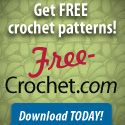Into crochet as well as sewing - check out these free crochet patterns