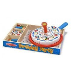 Decorate a birthday cake and have a party! (no mess!!) $15.99 Buy for Emily and Hannah