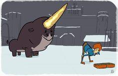 Newton and his Mating Dance!!! (via GIPHY)