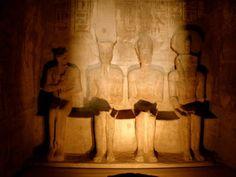 Ramsés II ( Abu Simbel )  Interior