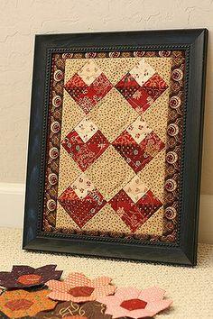 Valentine quilt--free pattern