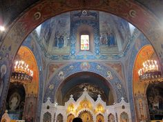 Chiesa russa di firenze, int 01 - Category:Russian Orthodox church in Florence - Wikimedia Commons
