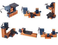 6 In 1 Mini Multipurpose Machine DIY Tool Wood Metal Lathe Milling Drilling Kit Sunwin http://www.amazon.com/dp/B00J8GYOJK/ref=cm_sw_r_pi_dp_n0Tqub1HFJHMC