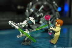 레고 스타워즈 그레비스 vs 오비완 케노비 LEGO STARWARS Grievous vs Obi-Wan Kenobi