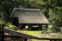 Zuurbeek bij Vollenhove, Oppen Swolle 5, kapschuur op het Landgoed De Oldenhof