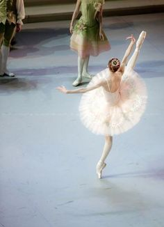 Svetlana Zakharova with the Mikhailovsky Ballet in The Sleeping Beauty.  Photo © Nikolay Krusser.