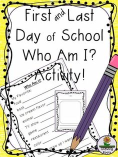 Foster friendships with this first and last day of school activity! Simple to implement and it serves a dual purpose. I've used this for years and it is a hit every time.