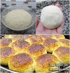 Mayonezli Pamuk Poğaça Tarifi Bread And Pastries, Turkish Recipes, Homemade Beauty Products, Desert Recipes, Vegetable Recipes, Deserts, Food And Drink, Yummy Food, Meals