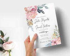 Wedding Invitation Set Invitation Bundle Printable invitation