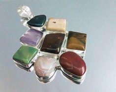 Orlov Jewellery-German silver, mix jasp Napkin Rings, Cufflinks, German, Jewellery, Silver, Accessories, Fashion, Deutsch, Moda