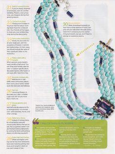 Brides Magazine. Bounkit Turquoise and Amethyst Necklace.