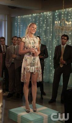 Dress - Blake Lively #Tiffany's