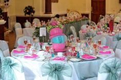 alice in wonderland  table setting