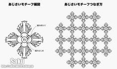 Crochê Gráficos: PAP centro de mesa