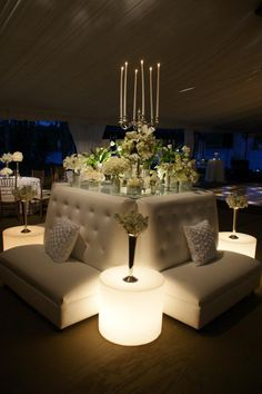 Nice lounge with cozy lighting #eventdecor