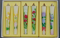 【花の詩・特別柄】 絵ろうそく3号(手描き)6本入  母の日【楽天市場】
