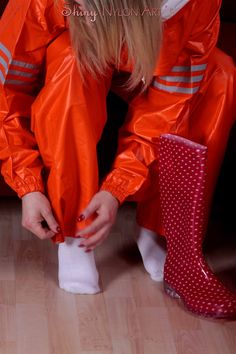 Gym Wear For Women, Women Wear, Nylons, Rubber Raincoats, Rain Gear, Rain Boots, Sportswear, Windbreaker, Leather Jacket