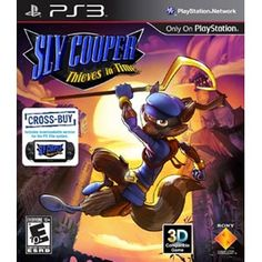 Sly Cooper: Thieves in Time from Sony Computer Entertainment