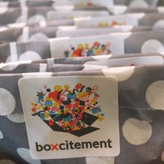 All the items in a Boxcitement subscription box are individually wrapped ready for re-gifting!
