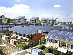 The Solar Settlement at Schlierberg produces 4x the energy it uses.