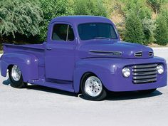 1948 Ford F1 Classic Truck Passenger Side Front View Photo 1