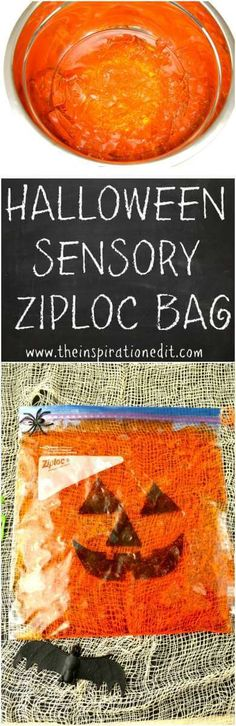 Today on the blog I am sharing this fantastic and fun Squishy Jack-o-Lantern Sensory Bag activity. Sensory bags can be really fun and this is a great idea for children this halloweenparty season. You really don't need much to make this sensory bag. It's a great budget friendly idea and I am sure the little … . #Halloween #halloweenactivities #Kids #Sensory #sensoryactivities #Sensorybag #jelly #jello #jelloactivities #halloweenfun #kidsfun #funhalloweenideas #halloweenparty