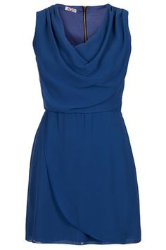 **Cowl Neck Dress by Wal G