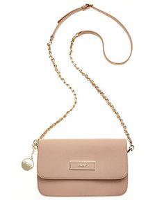 DKNY Handbag, Saffiano Small Flap Crossbody - Handbags & Accessories - Macy's