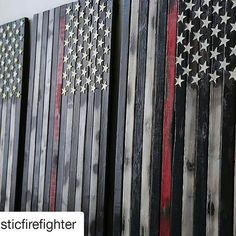 #Repost @rusticfirefighter with @repostapp  Rustic Burnt American Flag with Fire Hose Stars!! Hand crafted with pride in the USA!    Order today at http://Www.rusticfirefighter.com #rusticfirefighter #rustic #firefighter #firedept #firelife #ems #police #firstresponder #military #firestation #fdny #woodflag #americanflag #madeintheusa #handmade #smallbuisness #woodwork #walldecor #wallart #pclfire #blacksmokeapparel #fireowned #firefighterfamiles