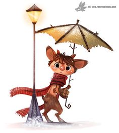 Daily Painting #945. Mr. Tumnus (FA) by Cryptid-Creations.deviantart.com on @DeviantArt