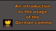 German Grammar, German Language, Punctuation, Online Courses, Tips, Deutsch, German, Counseling