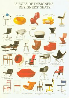 Classic Chairs #chairs #design #sedie