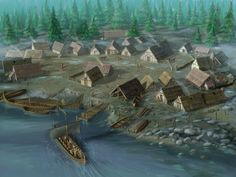 Olly Tyler - digital arts and visual effects: Viking Settlement