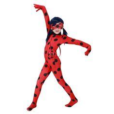 Halloween Girls Miraculous Ladybug Costume