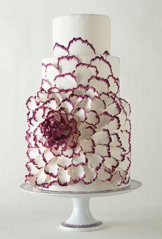 preciosa tarta de #boda …y original