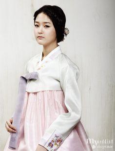 My wedding_ [한복 화보] 한복, 봄빛으로 물들다